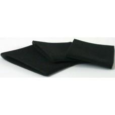 Filtru din burete pentru aspirare umeda din burette lavabil (negru) set